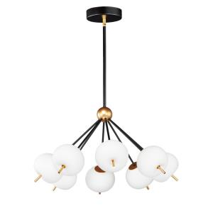 Quest-48W 8 LED Pendant-29 Inches wide by 16 inches high