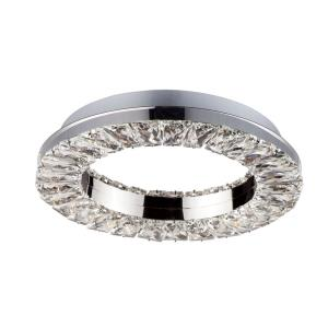 Charm-18.5W 1 LED Flush/Wall Mount-12 Inches wide by 12 inches high