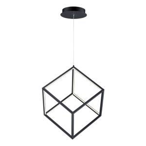 4 Square-24W 1 LED Pendant-20.5 Inches wide by 21 inches high