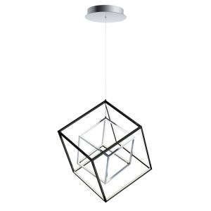 4 Square - 20.5 Inch 40W 1 LED Pendant