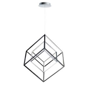 "4 Square - 30.5"" 57W 1 LED Pendant"