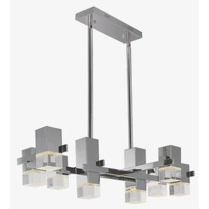 """Nova - 43"""" 19.2W 8 LED Square Pendant"""