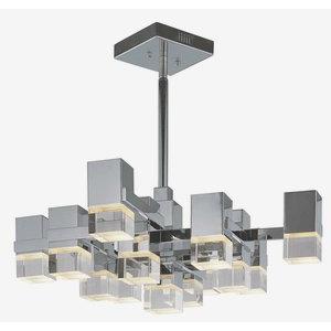 """Nova - 32"""" 31.2W 13 LED Square Pendant"""