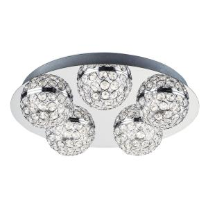 "Eclipse - 15.5"" 135W 5 LED Flush Mount"