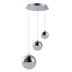 "Eclipse - 18.5"" 21.8W 3 LED Pendant"