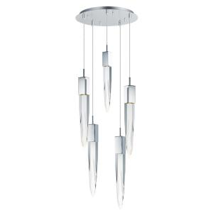 Quartz - 15.75 Inch 30W 5 LED Pendant