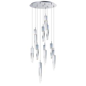 "Quartz - 20"" 60W 10 LED Pendant"