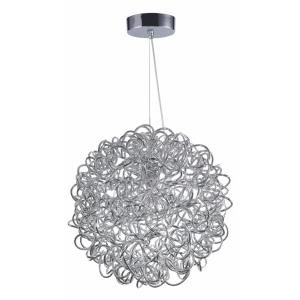 Dazed-9.6W 8 LED Pendant in Modern style-15.75 Inches wide by 15.75 inches high