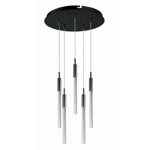 Scepter-37.5W 5 LED Pendant-13 Inches wide by 18 inches high
