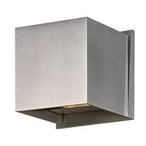 Alumilux Cube-6W 2 LED Outdoor Wall Mount in Modern style-4.5 Inches wide by 4.5 inches high