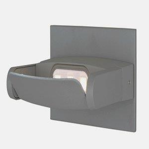 Alumilux DC-3W 3 LED Wall Sconce in Contemporary style-8.25 Inches wide by 4.5 inches high