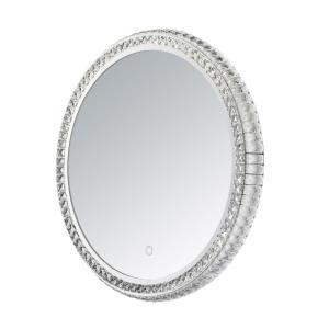 23.75 Inch 18W 1 LED Round Mirror