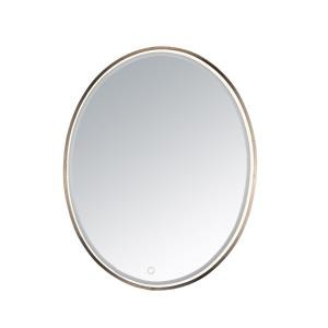 Mirror-22W 1 LED Oval Mirror-23.75 Inches wide by 29.5 inches high