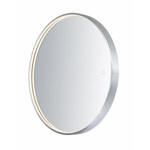 Mirror-22W 1 LED Round Mirror-27.5 Inches wide by 27.5 inches high