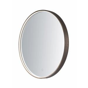 22W 1 LED Round Mirror in Modern style - 27.5 Inches wide by 27.5 inches high