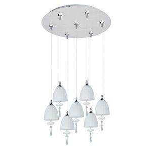 Chute - Seven Light RapidJack Pendant and Canopy