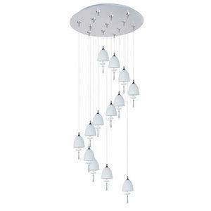 Chute - Thirteen Light RapidJack Pendant and Canopy