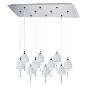 Chute - Ten Light RapidJack Pendant and Canopy