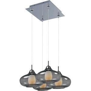 Graduating 4-Light RapidJack Pendant and Canopy