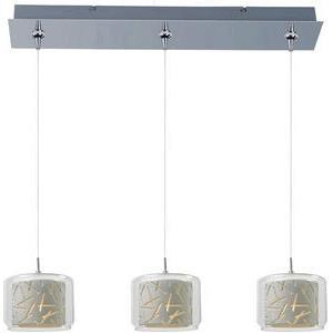 Confetti 3-Light RapidJack Pendant and Canopy