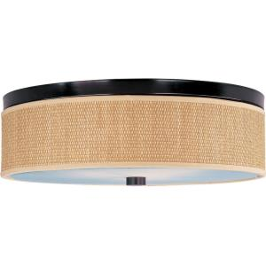 Elements-3 Light Flush Mount in European style-20 Inches wide by 6.25 inches high
