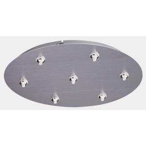 RapidJack-Seven Light Round Canopy-17 Inches wide by 2.5 inches high