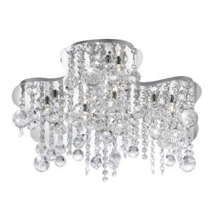 Alissa - Ten Light Flush Mount
