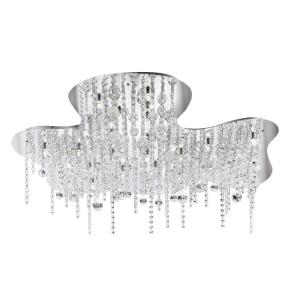 Alissa - Twenty-Six Light Flush Mount - 30 Inches Wide by 9.75 Inches High