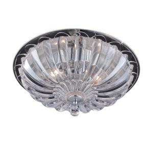 Vintage - Three Light Medium Flush Mount
