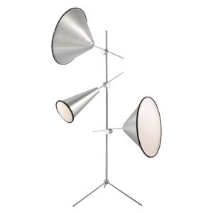 Manera - 3 Light Floor Lamp - 43.25 Inches Wide by 72.75 Inches High