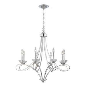 Volte - Eight Light Chandelier