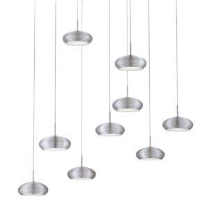 Venti - 37.75 Inch 43.2W 9 LED Round Pendant