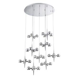"Pearla - 39.75"" 129.6W 36 LED Chandelier"