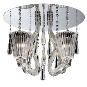 Corato - Four Light Flush Mount