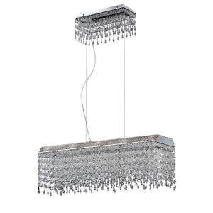 Fonte - Ten Light Rectangular Chandelier