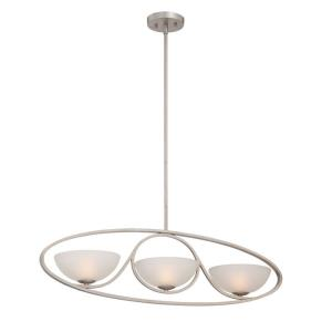 Carlucci - Three Light Linear Chandelier