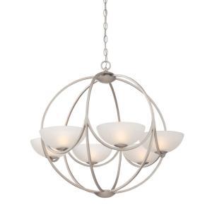 Carlucci - Six Light Chandelier