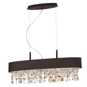 Romanelli - Six Light Oval Chandelier