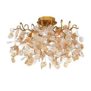 Campobasso - 5 Light Flush Mount - 20.5 Inches Wide by 12 Inches High