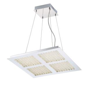 Denso Chandelier 4 Light - 21.75 Inches Wide by 3.5 Inches High