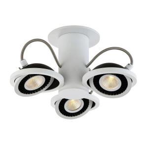 Vision - 12.25 Inch 15W 3 LED Flush Mount