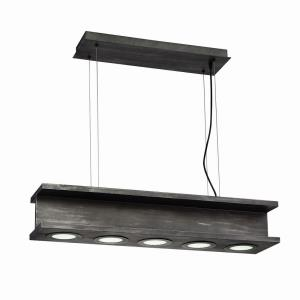 Fascio - 30W 5 LED Pendant - 7.75 Inches Wide by 6 Inches High