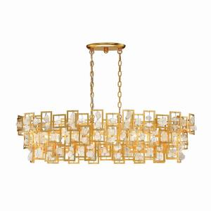 Elrose Oval Chandelier 5 Light