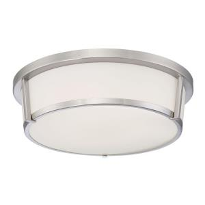 Java - 18W 1 LED Flush Mount - 14 Inches Wide by 4 Inches High