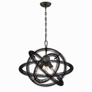 Orbita Chandelier 3 Light - 22.5 Inches Wide by 19.75 Inches High