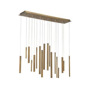 Santana - 42 Inch 18W 18 LED Linear Chandelier