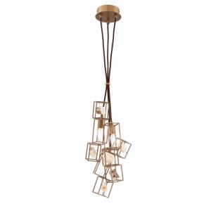 Patton Chandelier 3 Light  Stone