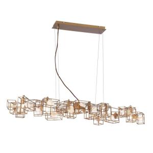 Patton - Six Light Rectangular Chandelier