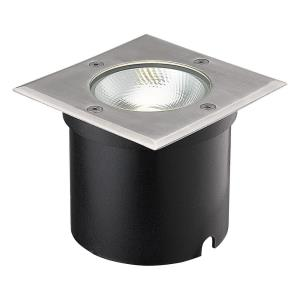 "5"" 7W 1 LED Square In-Ground Light"