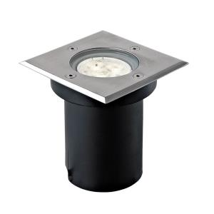 "5"" 3W 3 LED Square In-Ground Light"